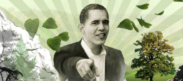 obama Change Hope Tropical Forests